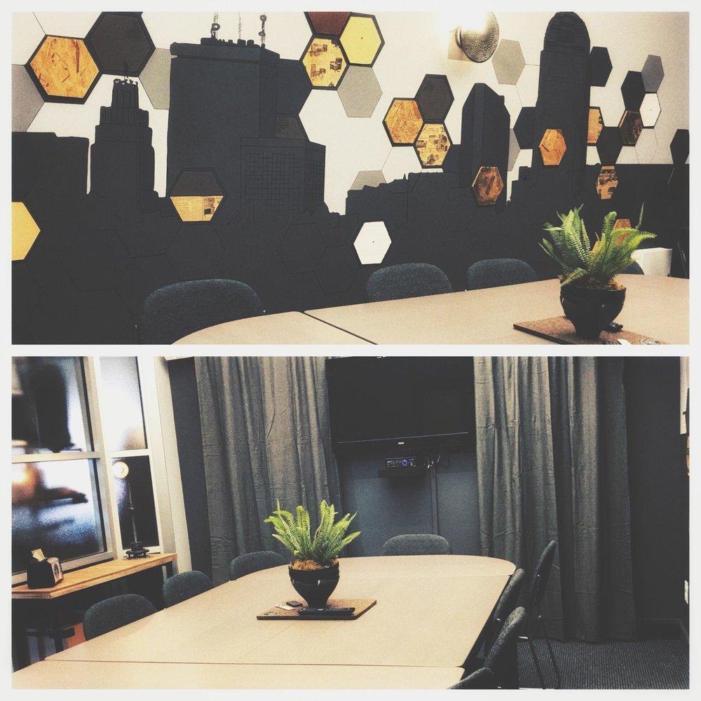 community room -