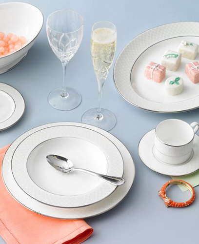 Lenox Venetian Lace Collection China from Macy's