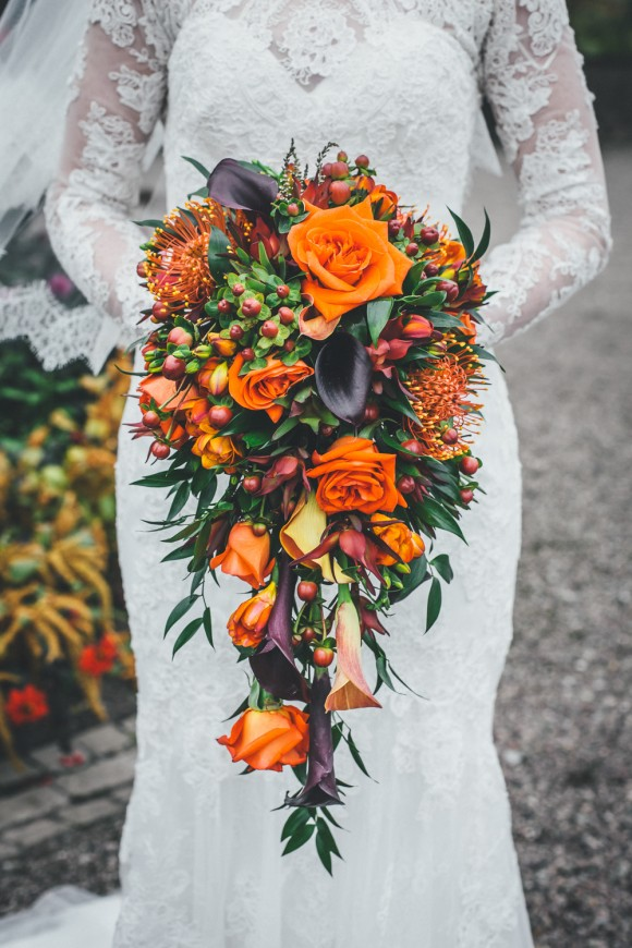 Floral by Acer Florists  originally published by Brides Up North