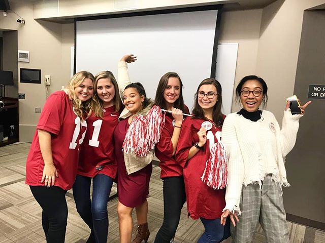 Congrats to Capstone Agency Communications for winning our Shark Tank  competition! Their idea of applying for block seating will be implemented as soon as possible. Thank you to everyone who pitched their great ideas! #CapstoneAgencySharkTank
