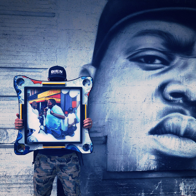 Live from Bedford Stuyvesant Biggie 5 Kings table from BK the Artist