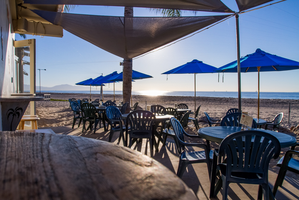 Restaurant Patio on The Beach Santa Barbara