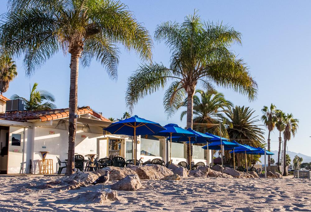 Shoreline Beach Cafe In Santa Barbara
