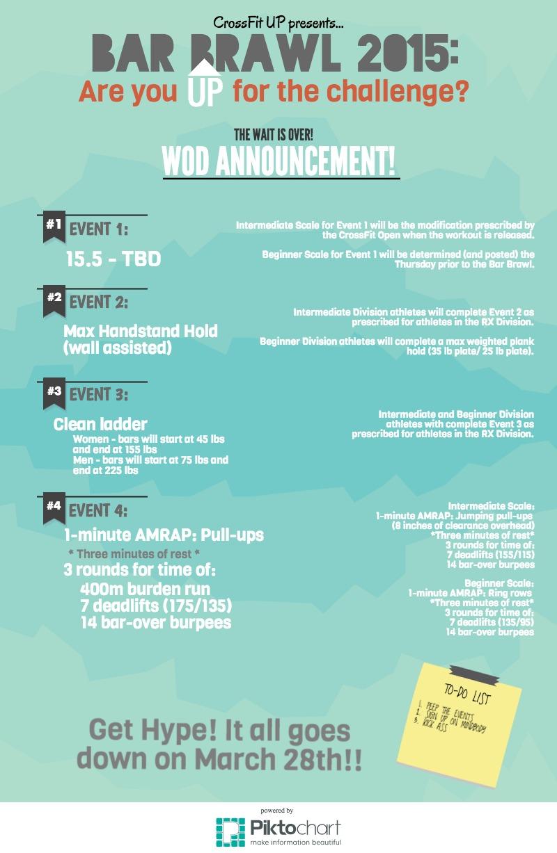 2015 Bar Brawl WOD Announcement - Edited