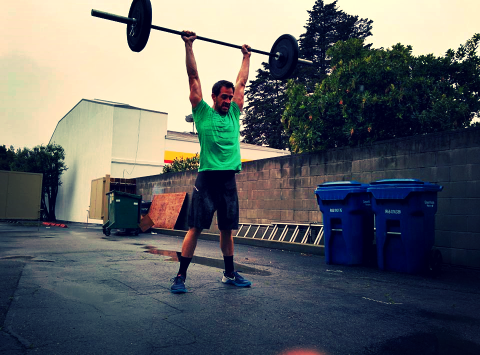 Jeremiah, finding some space outside today for his thrusters.