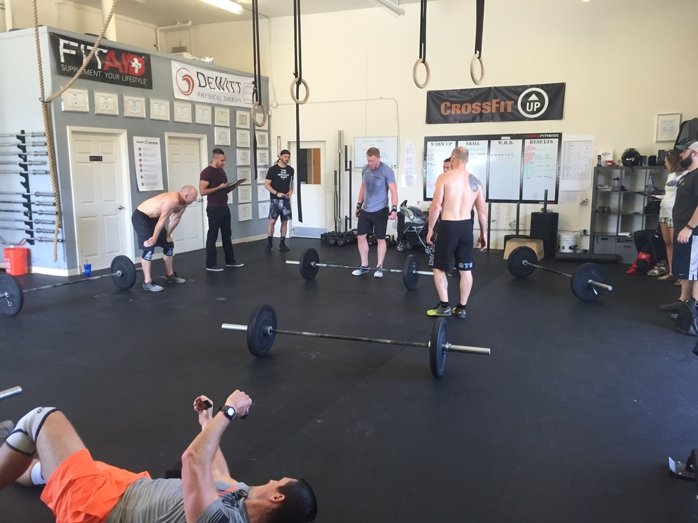 The carnage of 16.5.  Success, support, fitness and friends.