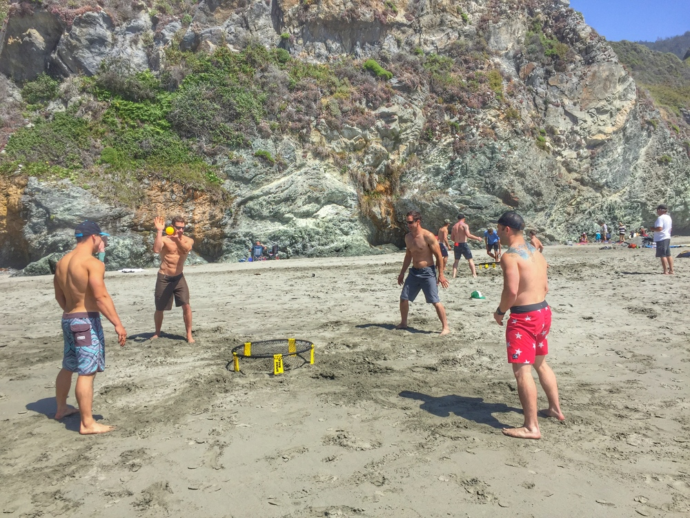 Weekends are for applying your fitness in any way you see fit. Yes, Spikeball counts