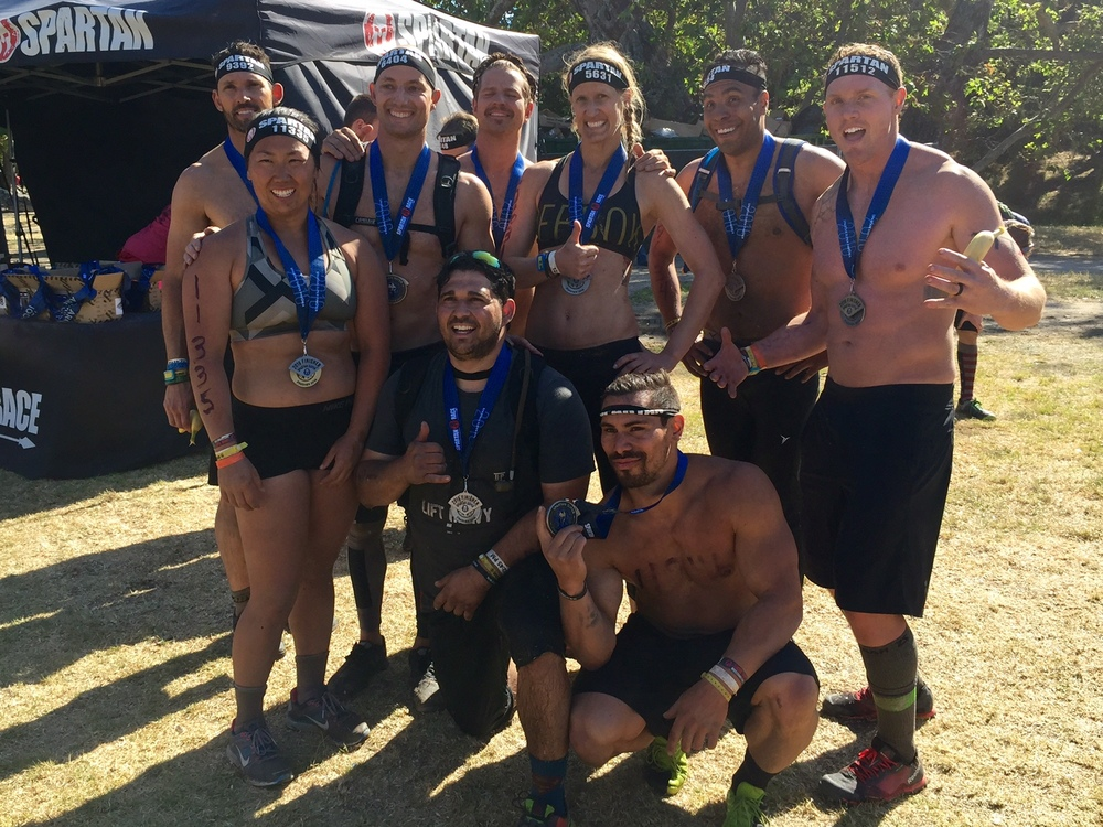 Team CF UP at the Spartan Super this past Saturday. How did you apply your fitness this weekend?