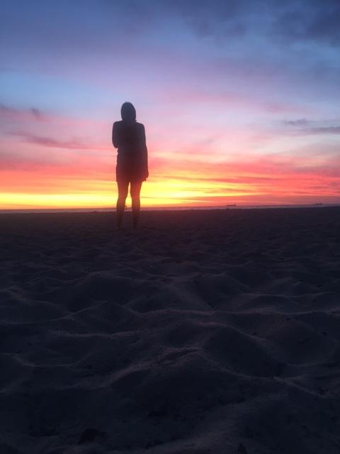 St Kilda Beach sunset.