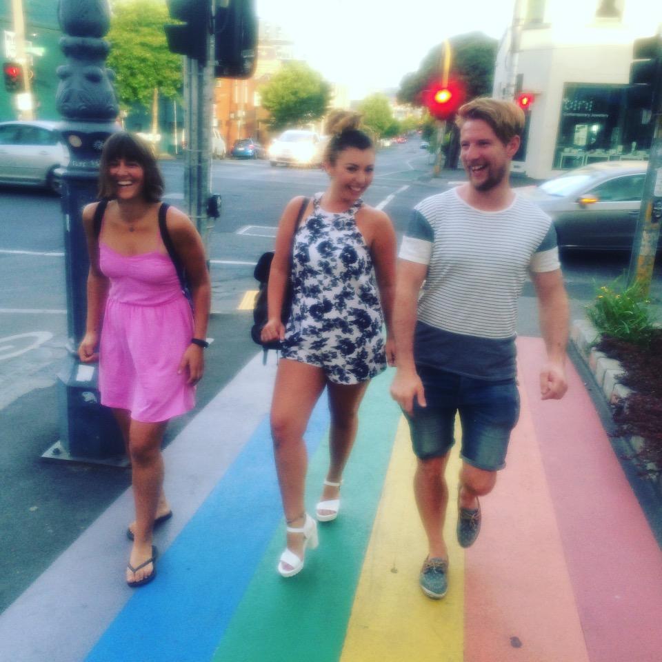 Rainbow Road.