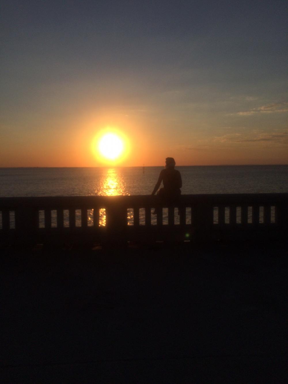 Elwood Beach sunset.