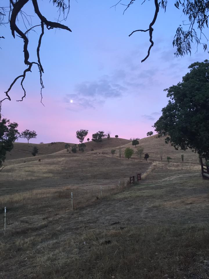 Sunset. Hashtag no filter.