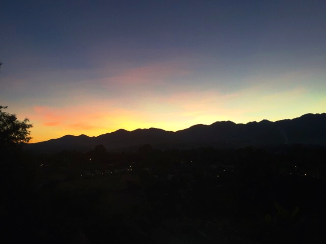 Circus sunset