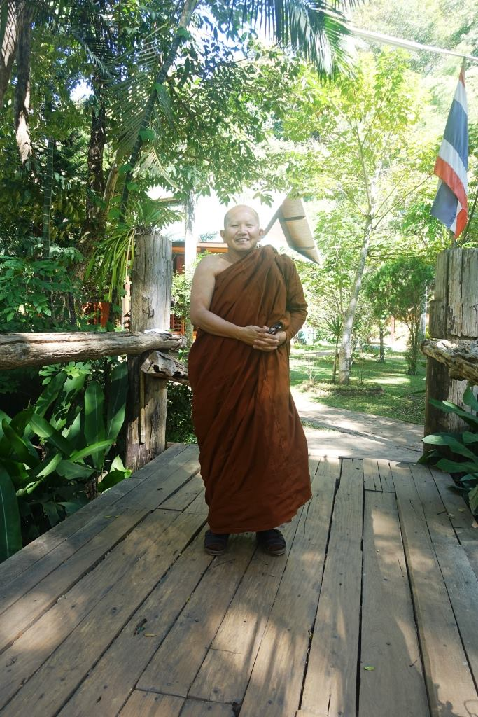 My favourite monk. Photo courtesy of Stephen from Texas!