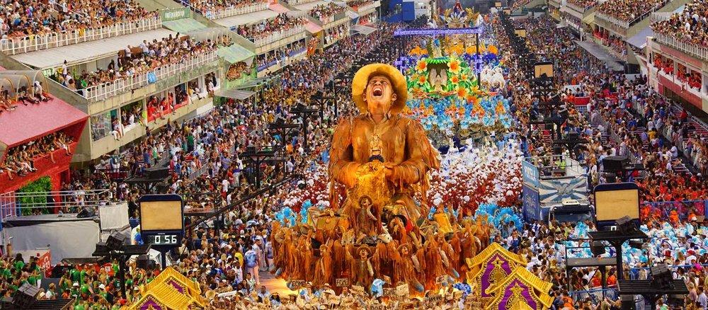 Rio Carnival, Brazil.