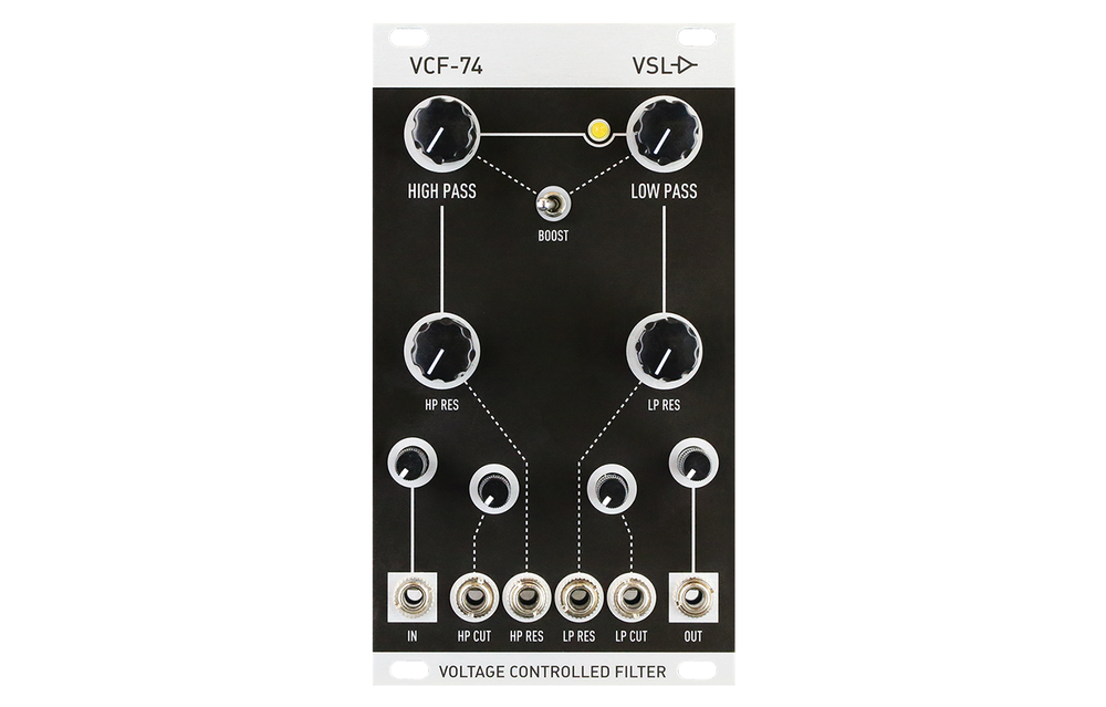 VSL VCF-74 Voltage Controlled Filter