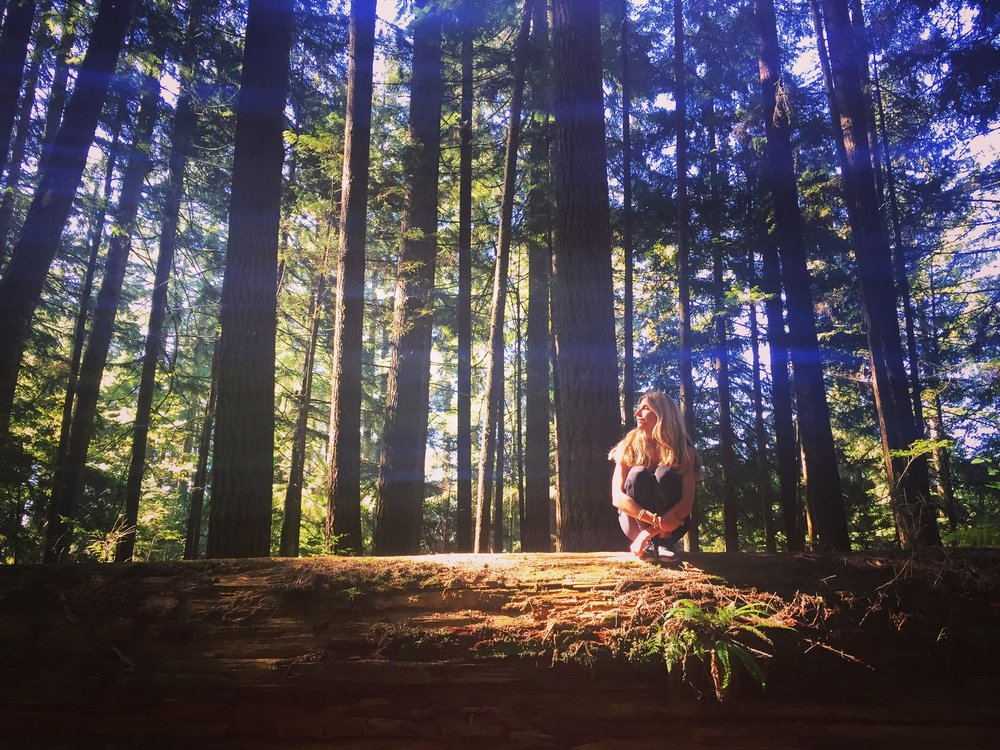 Photo by my gorgeous friend  Jade Tailor  who showed me around  Lynn Canyon