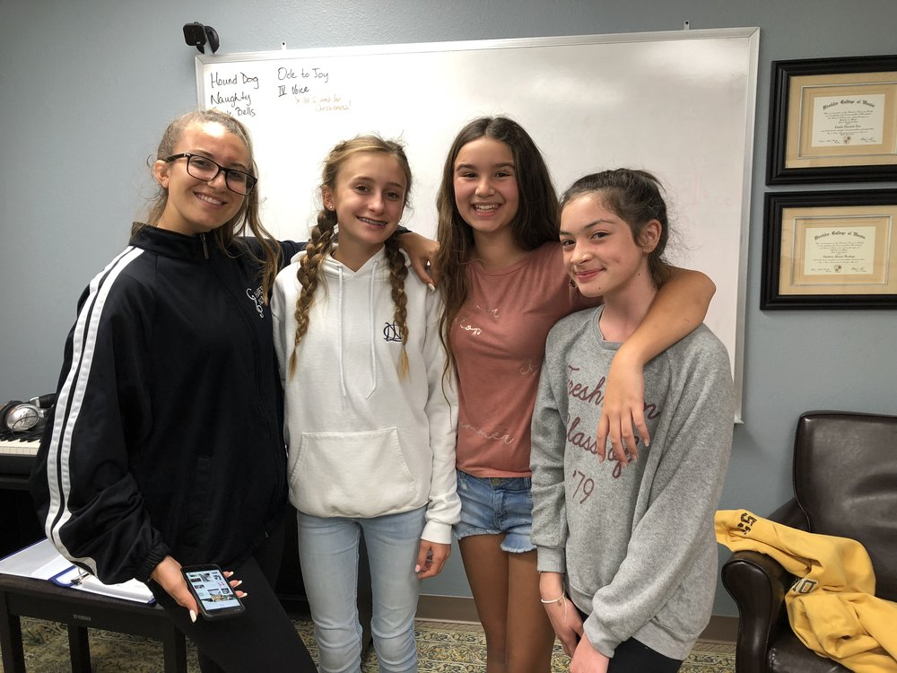 4th Voice... - It all started ...on July 17, 2017 when four talented students signed up for a week long