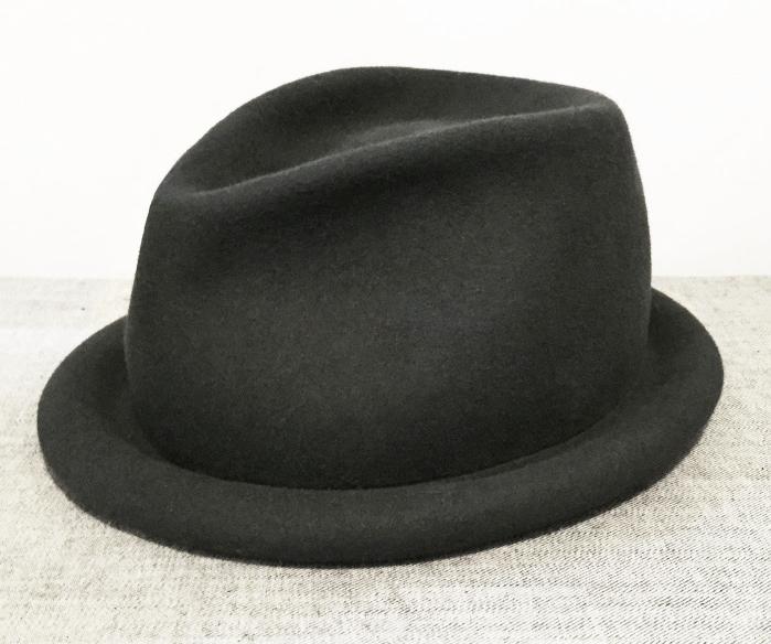 Blocked felt hats - unisex • rabbit fur felt • wool felt