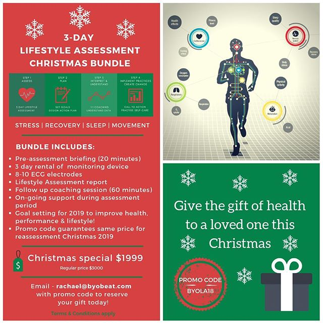Looking for ideas for 🎄🎅🏻🎁🤶 presents this year? ___ Why not consider giving the 🎁of insight 💡 and a stepping stone towards better health and performance 📊to a loved one? ___ Offer is valid until 25/12/18!! ___ Visit our website (link in bio) for more information. . . . . . #byobeat #christmasiscoming #giftofhealth #lifestyleassessment #goalsetting2019✅ #presents #christmas #healthylifestyle #wellbeing #setthebar #physicalactivity #sleep #energy #stress #movement #evolvetogether #hongkong #mindfulness