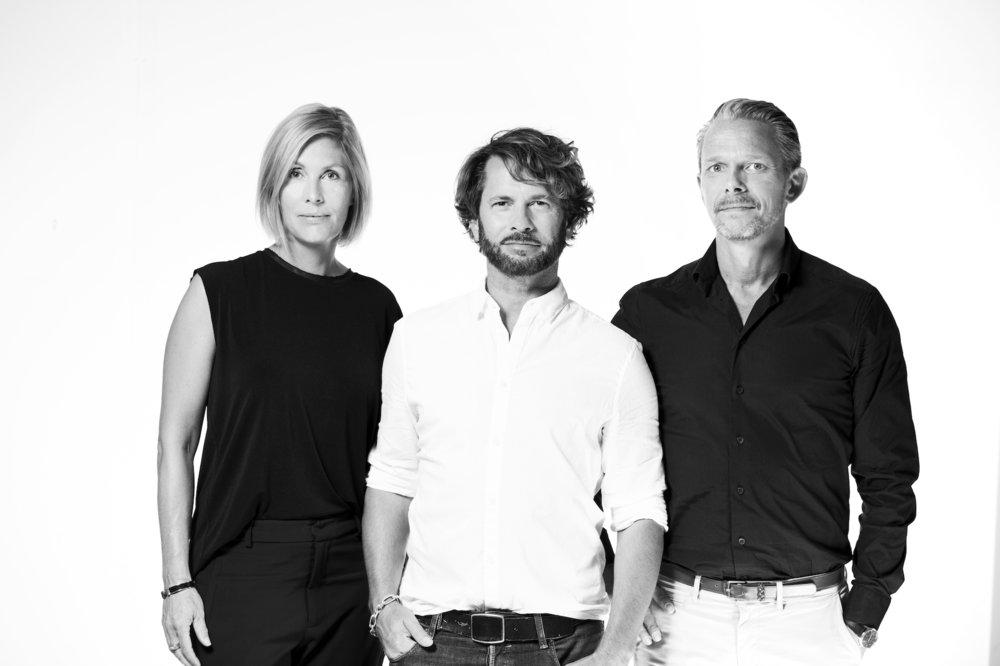 Founder team Anna Fornek Bergström, David Glover and Anders Sjöstedt (low res)