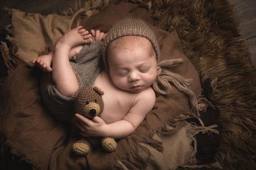 Vintage newborn baby jpg