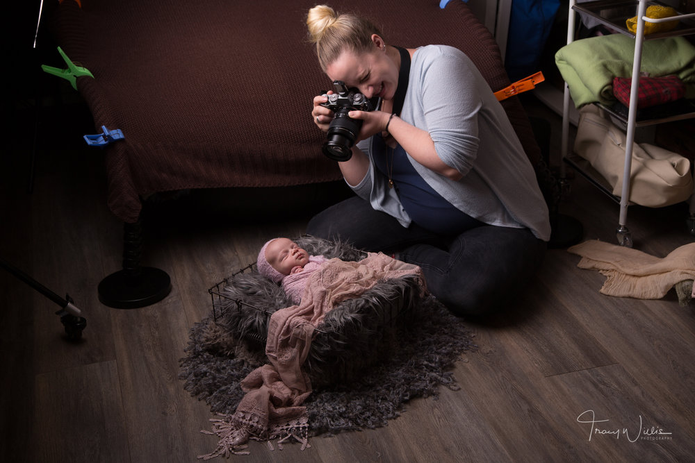 newborn photography training Bournemouth, UK