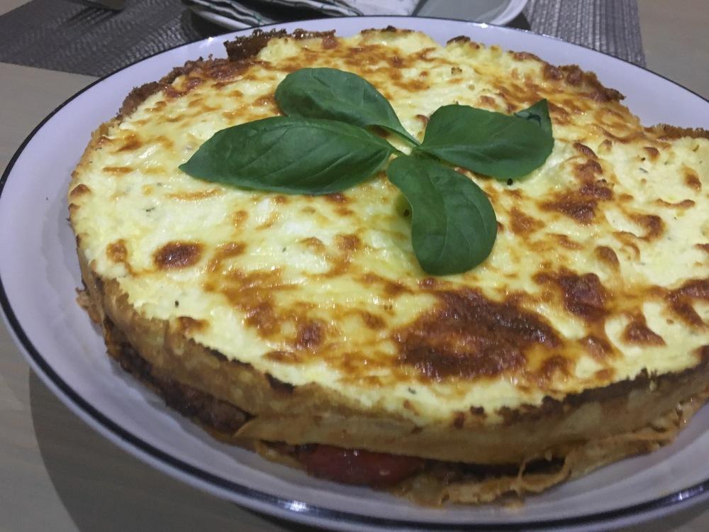 Crepe Lasagne