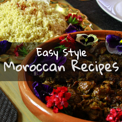 Moroccan and lamb, match made in heaven