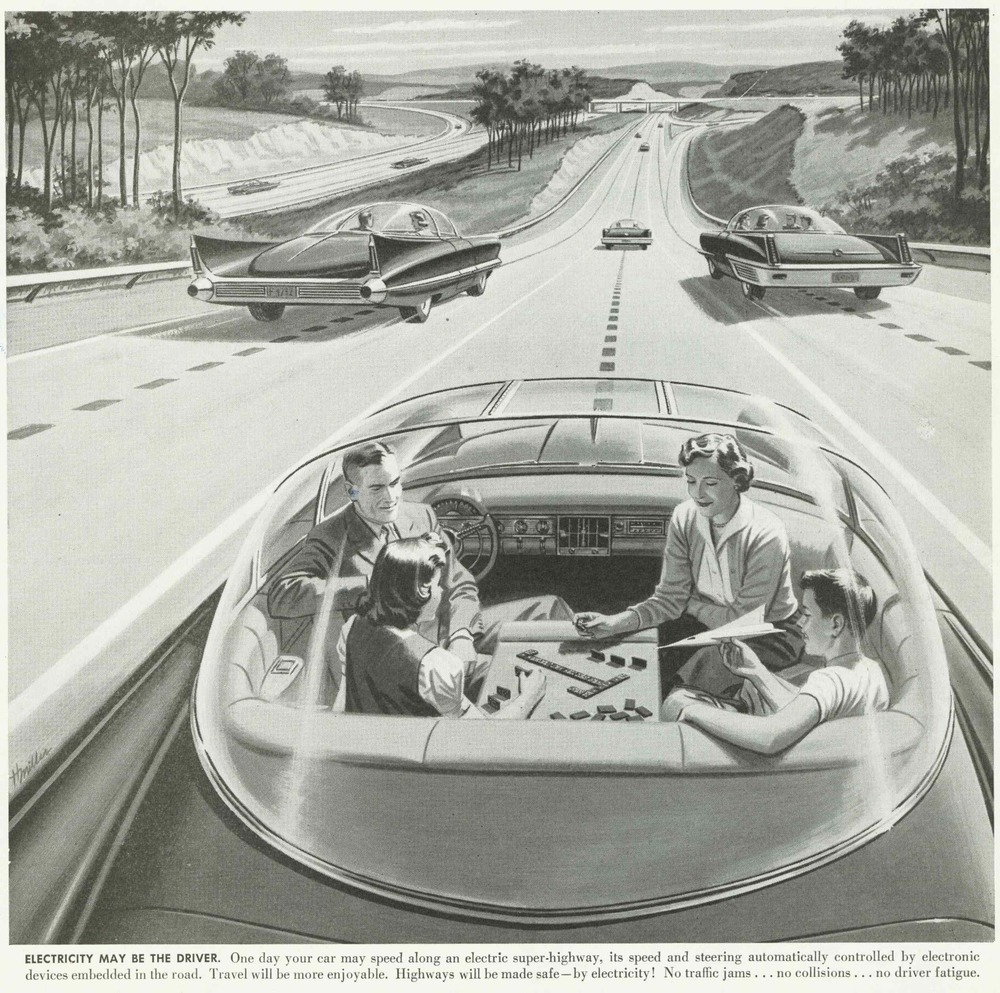 The famous 1956 advertisement by America's Independent Electric Light And Power Companies that was published in Boys' Life Magazine and US newspapers.