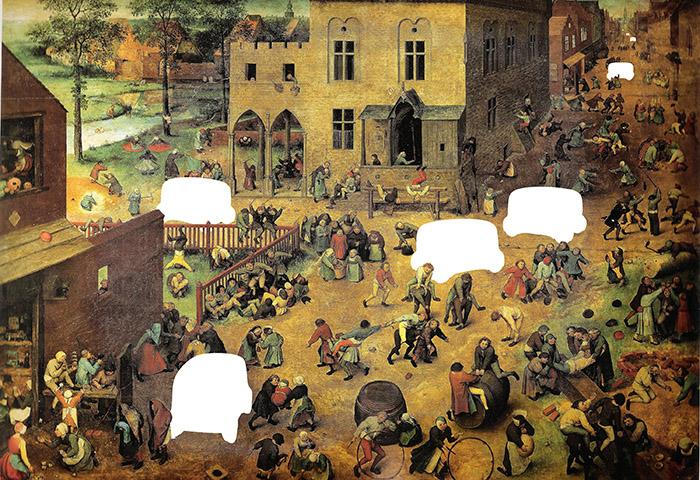 Pieter Bruegel the Elder - Children's Games