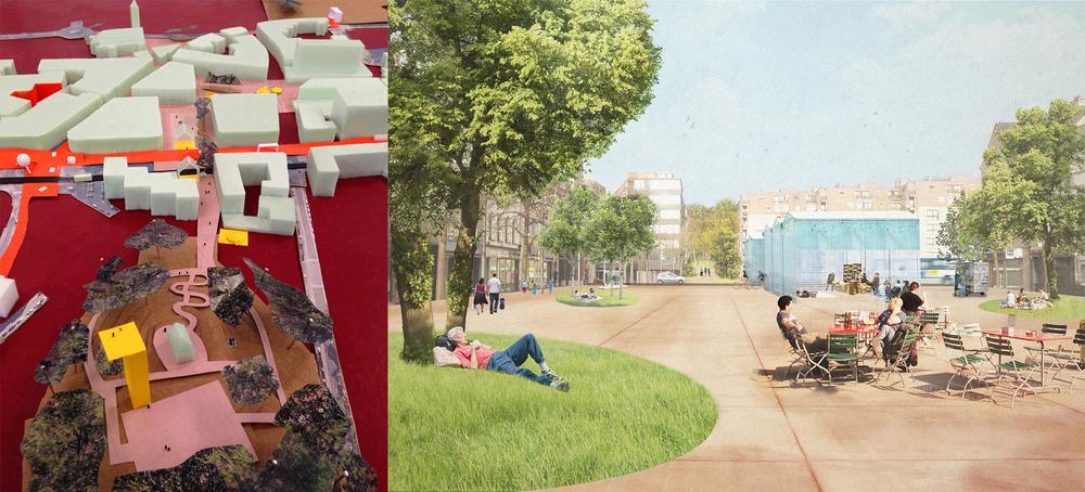 Case A: City promenade