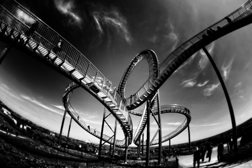 Roller coaster by Mark Asthoff from Unsplash