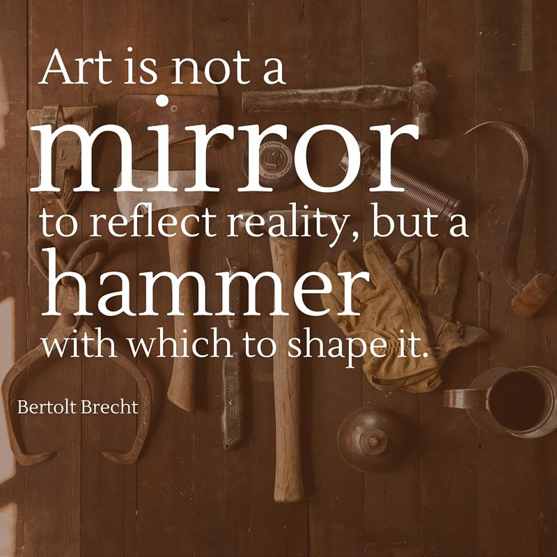 Bertolt Brecht quote