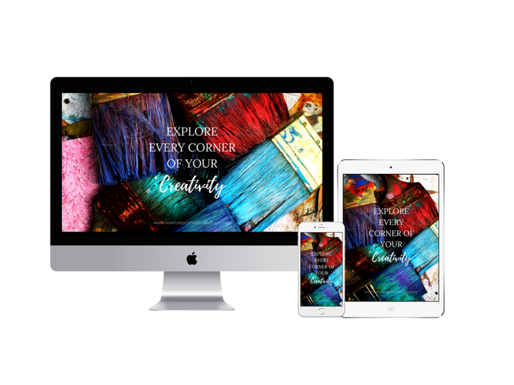 Explore every corner of your creativity digital wallpaper