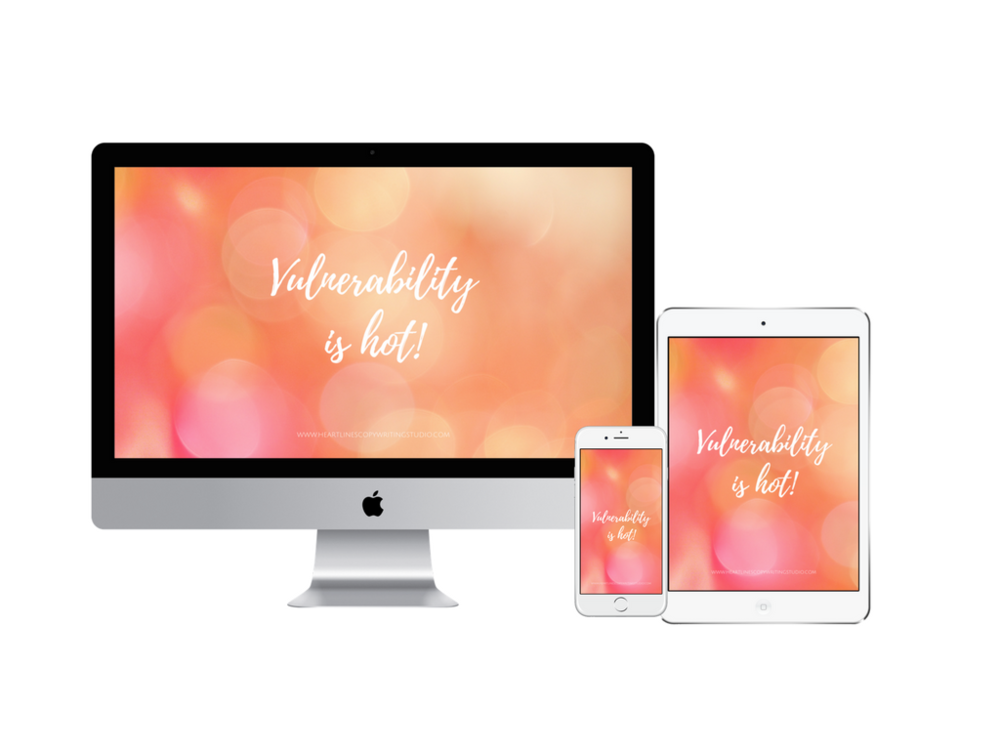 Need a gorgeous digital reminder that authenticity is where it's at & it's okay to be yourself?  Grab this free digital wallpaper to remember that the goal is always connection.  And you can still be an expert without having to be superhuman.