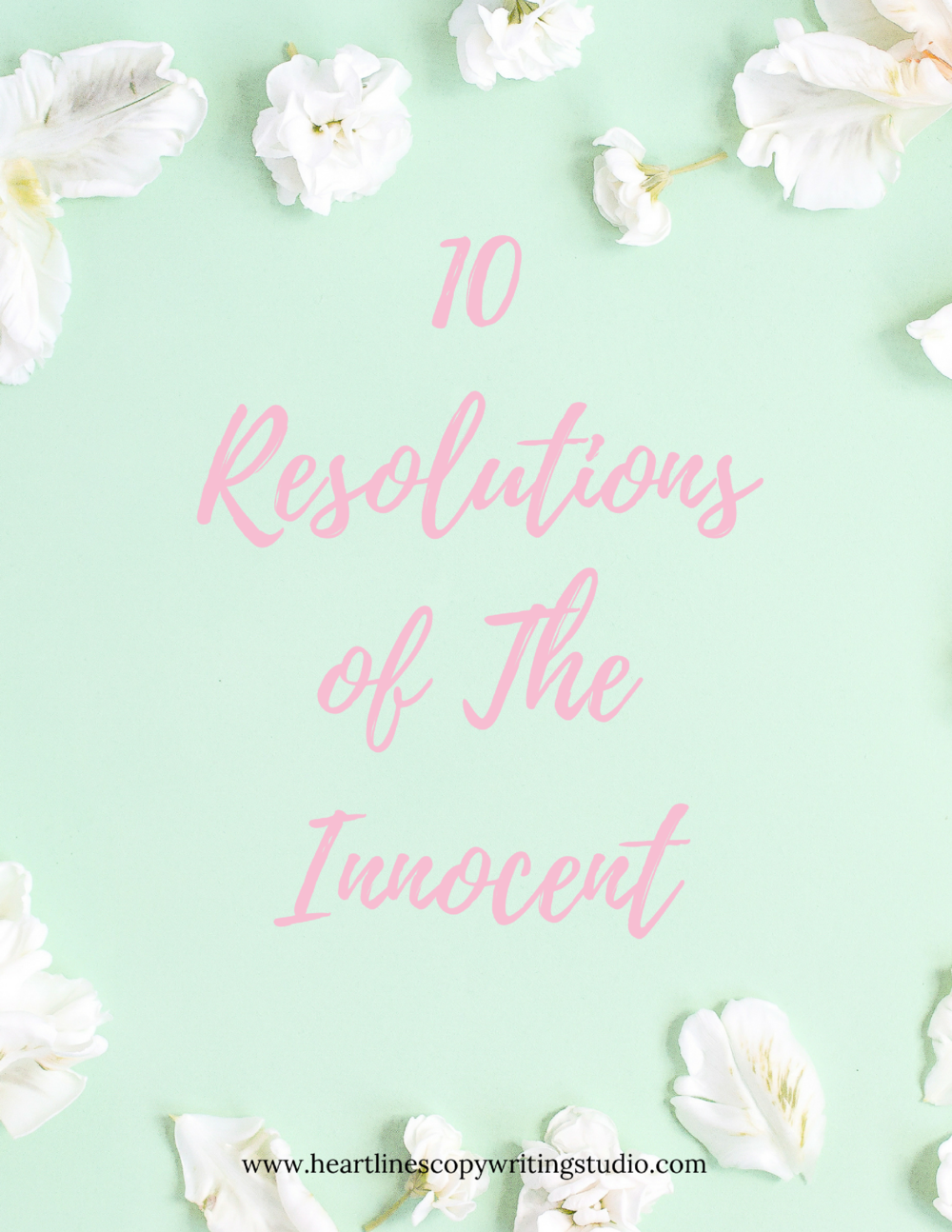 Download the PDF version of The 10 Resolutions of The Innocent right here.