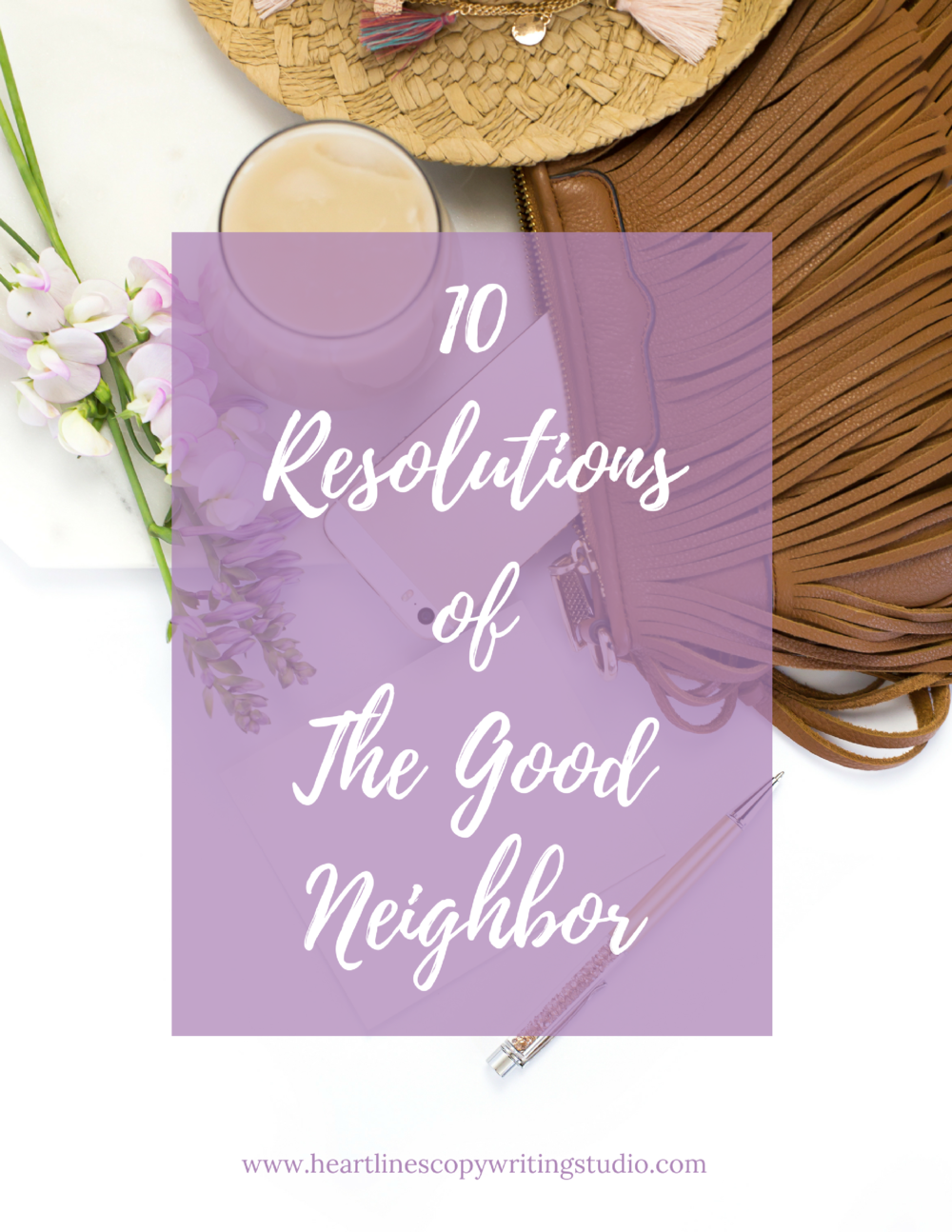 Download the PDF version of The 10 Resolutions of The Good Neighbor right here.