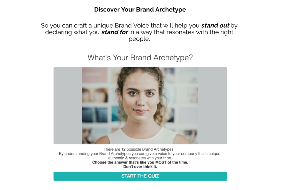 Discover your Brand Archetype Mix