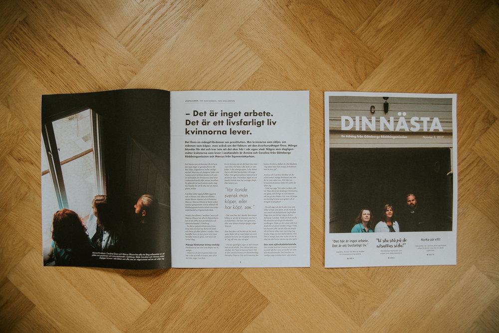 Din Nästa - En tidning av Göteborgs Räddningsmission