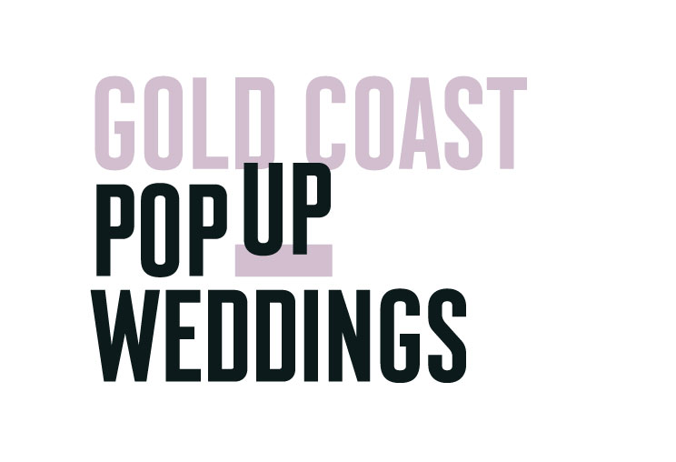 Gold Coast Pop Up Weddings