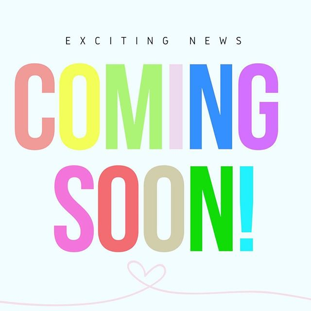 Exciting announcement coming soon!!!! Stay tuned ❤️🧡💛💚💙💜