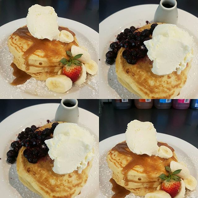 Guess whose back! Back again, Pancakes back. Tell a friend!!! Our beloved pancakes are back in business all thanks to our amazing customer requests!  Come try out the Salted Caramel and Banana or Berry Beauty stacks!!! We even have a mini stack for the little ones ☕🍽🍓🍌 KIDS 10 AND UNDER EAT FREE EVERY WEEKEND!!! #duocafecaboolture #breakfast #yummy #pancakes #brekkie #duocafe #caboolture #coffee #merlocoffee
