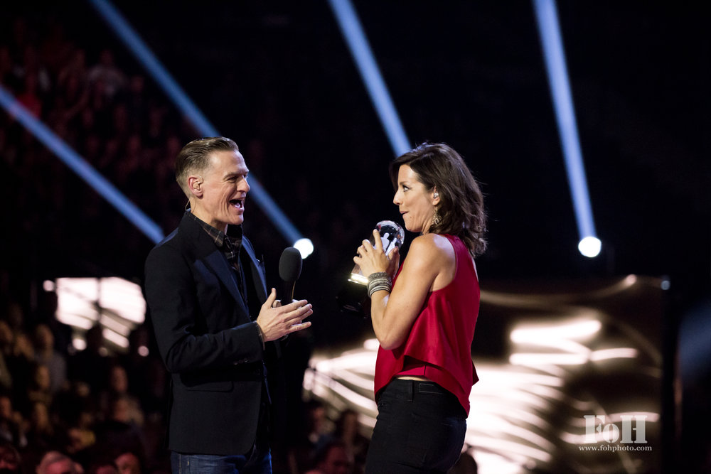 Bryan Adams and Sarah McLachlan