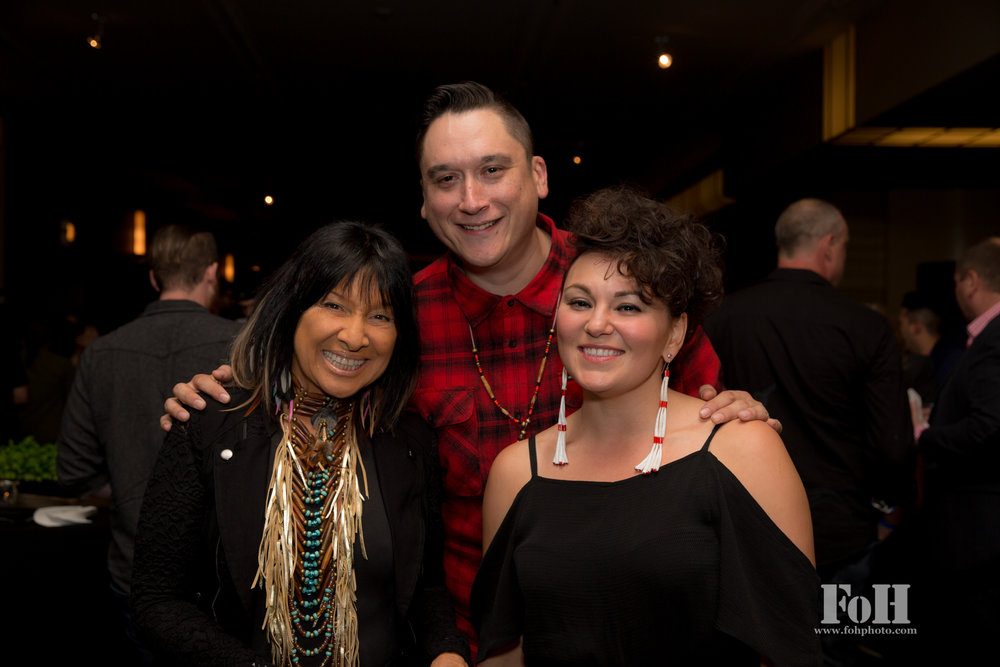 Buffy Sainte-Marie, Ian Campeau & Tanya Tagaq