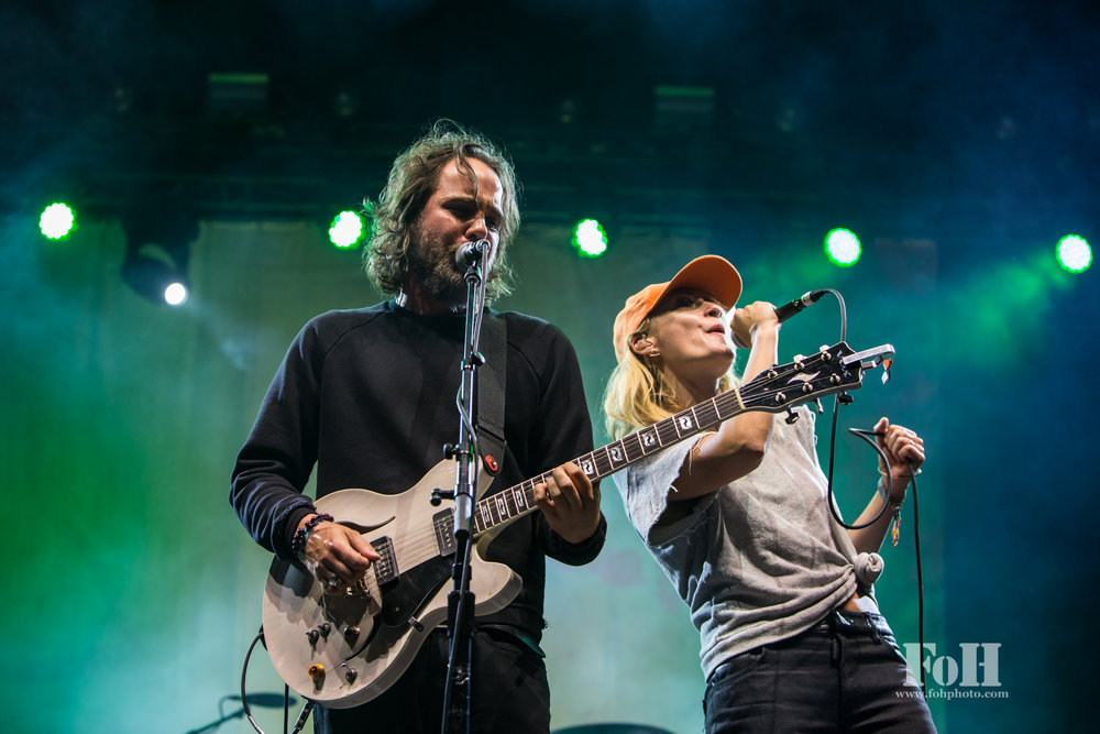 Broken Social Scene performing at Field Trip Music & Arts Festival 2017