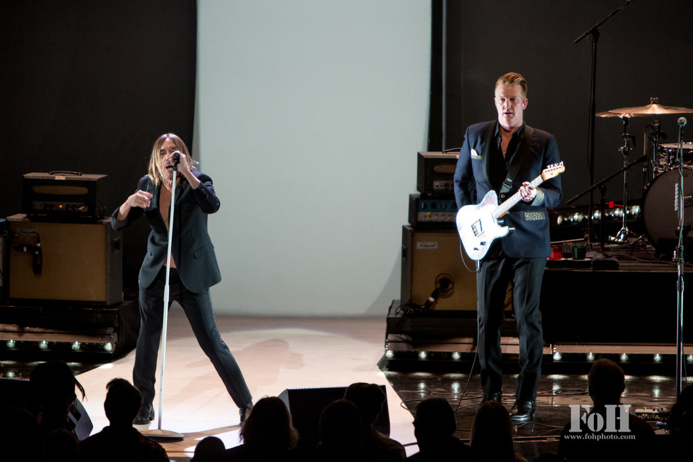 Iggy Pop with Josh Homme