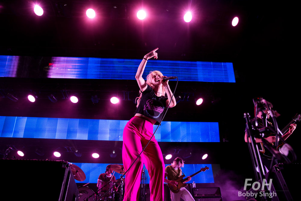 Paramore, Budweiser Stage, Toronto. Bobby Singh/@fohphoto