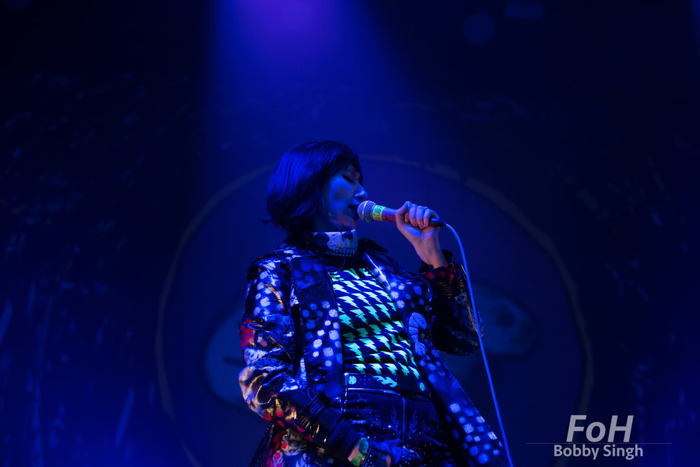 Yeah Yeah Yeahs perform at the 2018 Field Trip Music & Arts Festival in Toronto