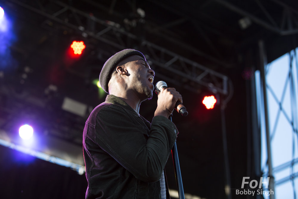 British singer-songwriter Jacob Banks performs at the 2018 Field Trip Music & Arts Festival in Toronto